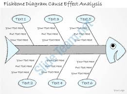 2502 business ppt diagram fishbone diagram cause effect analysis