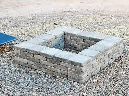Firepit Bricks You Can Create This Modern Diy Pit In An Hour It S That Easy