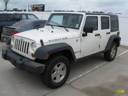2007 jeep unlimited rubicon 2007 white jeep wrangler unlimited rubicon 4x4 46038543