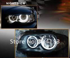 Night Eyes Lights Free Shiping Ccfl Angel Eyes Lamp Lights Ring For E46 White