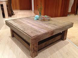 reclaimed timber coffee table recycled timber coffee table with shelf tree to sea designs
