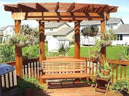 Swing Bench Plans Arbor With Seat Plans Garden Arbor Bench Free Plans Corner Arbor