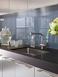 glass backsplashes for kitchens pictures best 25 back painted glass ideas on glass backsplash