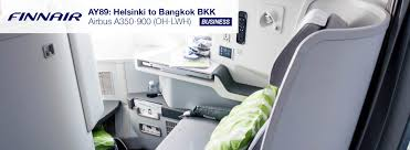 Finnair Route Map by A350 Business Class Review Helsinki To Bangkok