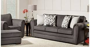 Big Leather Sofas Simmons Flannel Charcoal Ottoman At Big Lots Sitting Area Big Lots