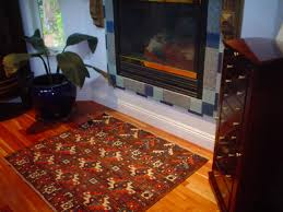 beauty safety fireplace rugs to give nice decor with protection