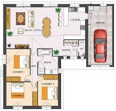 plan maison 3 chambre résultat de recherche d images pour plan maison plain pied 3