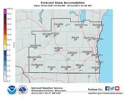 Racine Wisconsin Map by Winter Storm Continuing To Impact A Portion Of Southern Wisconsin
