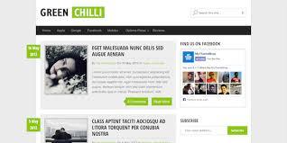 greenchili free wordpress theme for bloggers mythemeshop