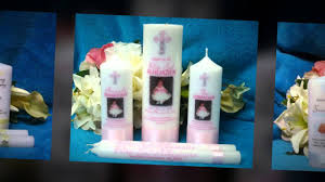 baptism candle must see custom baptism candle sets from heartfelt candles