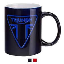 modern coffee cups modern triumph logo coffee mug triumph motorcycles