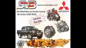 servibombas reparacion de turbos mitsubishi l200 4d56 2 5 diésel