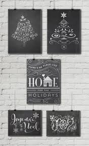 free christmas chalkboard printables u2022 little gold pixel