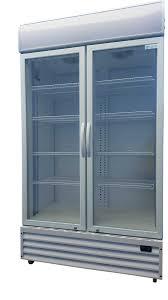 commercial veritical glass door cooler superchill refrigerations