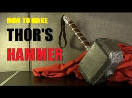 how to make thor s hammer avengers age of ultron youtube