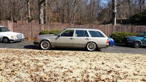 lowered mercedes vwvortex com lowered 1991 mercedes benz 300te 4matic wagon