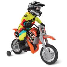 motocross bike security the motocross champion ride on bike hammacher schlemmer