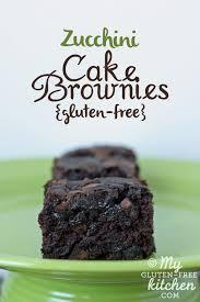 double chocolate zucchini cake brownies gluten free