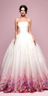 wedding dresses with color colored wedding dresses best 25 colorful wedding dresses ideas on