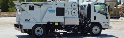 model dst 4 dustless street sweepers manufacturer texas