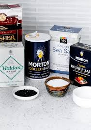 kitchen essentials salts and why the type and brand you use