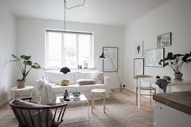 a simple but beautifully styled 37 square meter swedish pad