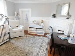 martha stewart interiors nursery traditional with metal crib