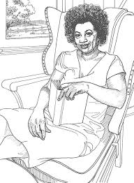 famous black women of color black history coloring pages