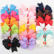 cloth ribbon 18 pcs bag hair bows kids cloth ribbon boutique lovely no