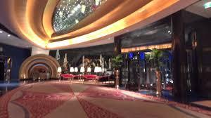 lobby burj al arab dubai a fairy tale hotel youtube