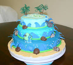 whale baby shower cake by shelly luau themed baby shower cake