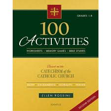 Rosary For Kids Worksheets 100 Activities Based On The Catechism Of The Catholic Church