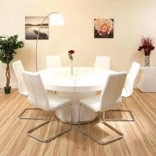 Kitchen Table White by White Round Extending Dining Table U2013 Augure Me
