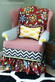 Upholstery For Dummies How To Reupholster A Chair With A Glue Gun Way Back