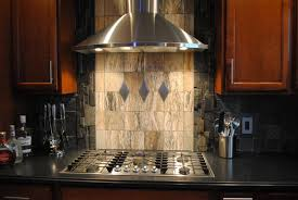 Stainless Steel Kitchen Backsplash by Kitchen Backsplash Mosaic Black And White Ceramic Tile Diy