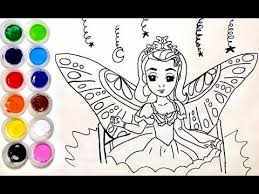 draw colorful sofia princess coloring pages colored
