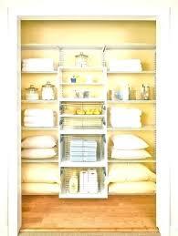 Bathroom Closet Shelves Designing Closet Storage Probeta Info