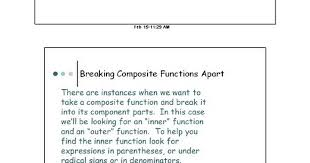lesson 3 composition of functions working backwards pdf