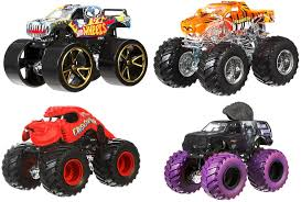list of all monster jam trucks amazon com wheels monster jam tour favorites u2013 styles may
