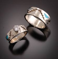 Unique Wedding Ring Sets by Begay Jewelry Wedding Rings