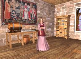 medieval kitchen my black rose