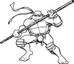 ninja turtle coloring page 1719