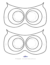28 owl mask template owl activities free printable owl mask