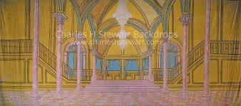 Palace Interior by Palace Interior Backdrop Backdrops By Charles H Stewart