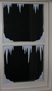 Christmas Window Decorations Uk by Christmas Window Decorations Snow Corners And Icicles Static