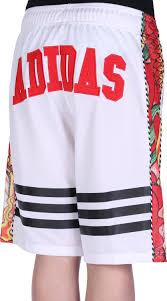 adidas dragon print w shorts white red black weare shop
