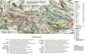 Holiday World Map by Tahoe Xc Winter Trail Map