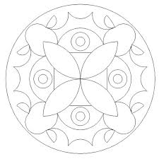 free printable mandala colouring pages primary