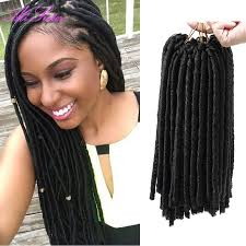 hair for crochet weave red hair extensions faux locs synthetic weave hair crochet braid