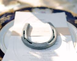 horseshoe wedding favors horseshoe favors etsy